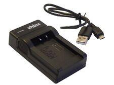 Schnell-Ladegerät [mit Micro USB Plug] fuer PANASONIC Lumix DMC-FZ48, DMC-FZ100