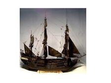 Wooden Ship Model Kits Train Hobby  Black Pearl Model Kit