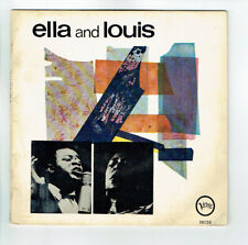 """Ella FITZGERALD And Louis ARMSTRONG Vinyle 45T EP 7"""" CHEEK TO ..VERVE 26136 RARE"""