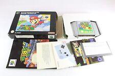 Nintendo N64 super Mario completo in scatola PAL UK