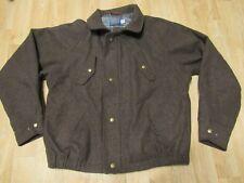 Vintage Pendleton Wool Jacket Brown Mens Large
