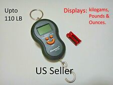 Digital luggage scale portable electronic check bag carry on LCD 110LB US Seller