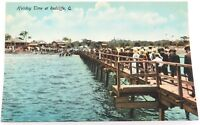 ".c1910 REDCLIFFE ""HOLIDAY TIME AT REDCLIFFE"" COLOUR POSTCARD. RETRAC SERIES"