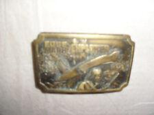 EDGE EXPLORER 51-511 WAIST BELT BUCKLE- VINTAGE DESIGN/MAKE MADE IN USA