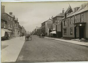 Southwold High Street 1892 Photo By Frith