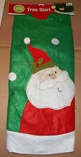 "Christmas Tree Skirt 48"" Diameter Winter Wonder Lane Santa Claus 89X"