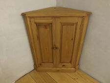 Pine 2 door standing corner unit made by our own carpenters