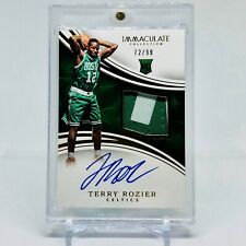 2015-16 Terry Rozier Immaculate Collection RPA 72/99 RC Auto Patch Gold Foil