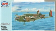 MPM Lockheed Hudson A-29/PBO-1 1:72 Model Kit New & Sealed