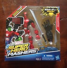 LAST ONE! Marvel Super Hero Mashers Deadpool Action Figure  Mash Up With Venom