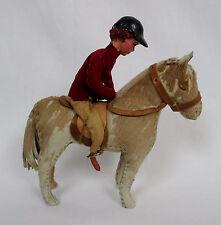 EDITH REYNOLDS England Animal Series Horse & Rider Handmade Real Skin & Leather