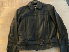 WOMEN'S HARLEY DAVIDSON HD INSULATED LEATHER RIDING JACKET SMALL