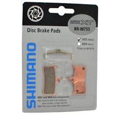Shimano Deore XT BR-M755 M03 Metal Disc Brake Pads and Spring