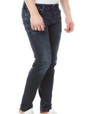 Diesel Sleenker Skinny Jeans 679Q Dark Distressed Wash Regular Bootcut W36 L32