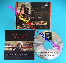 CD DAVID BLANASI Didjeridu master 1998 australia BIG BANG  (Xs1)no lp mc dvd