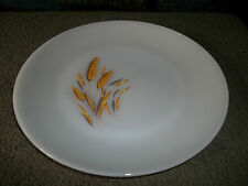 """Vintage Fire King """"Wheat"""" 10-in. Dinner Plate Circa 1960's"""