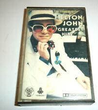 ELTON JOHN ~1970'S GREATEST HITS ON CASSETTE TAPE 1970s