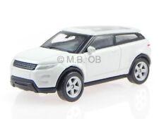 Land Rover Range Rover Evoque blanc véhicule miniature Welly 1:60