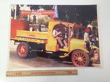 Vintage Coca Cola Laminated Photo Approx 42cm x 30cm