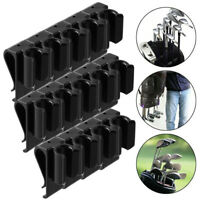 14x Golf Bag Club Organizer Clip Holder Set For All Wedge Iron Driver Putter