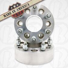"2 USA MADE | 1.50"" | 6x5.5 to 6x5.5 | 6Lug | 14x1.5 Studs | Wheel Adapter Spacer"