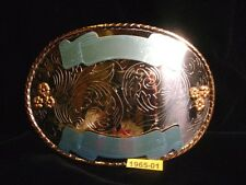 ROCKMOUNT DENVER COLO Huge Belt Buckle ready to Engrave Old Store Inventory