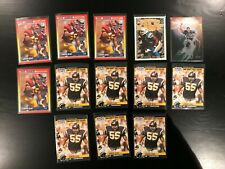 13 Card Junior Seau Lot Rookies + Inserts Chargers