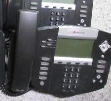 Polycom SoundPoint IP 550 IP550 SIP 2201-12550-001 Phone & Handset