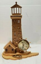 Hand Made Wood Lighthouse Fine detail - Heavy Duty Carved