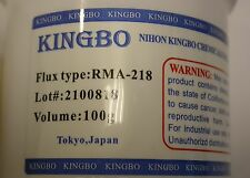 Original Brand New KINGBO Reballing Soldering Flux Paste RMA-218 100g