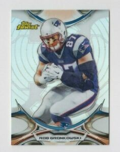 Rob Gronkowski 2015 TOPPS FINEST SILVER REFRACTOR #73 TAMPA BAY BUCCANEERS
