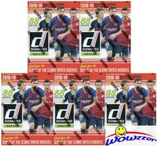 (5) 2019 Panini Donruss Soccer HUGE Factory Sealed Blaster Box-EXCLUSIVE OPTIC!