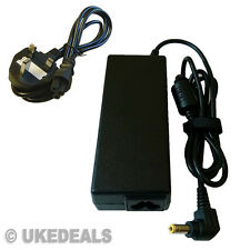 Para Toshiba Satellite Pro l450d-12t portátil cargador adaptador + plomo cable de alimentación