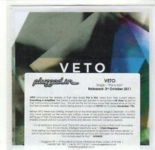(CA564) Veto, This Is Not - 2011 DJ CD