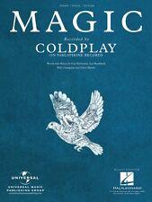 Magic Sheet Music Piano Vocal Coldplay NEW 000128282