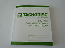 Driver's Defect Book PCV/PSV 50 report forms,Designs vary.Tachograph product
