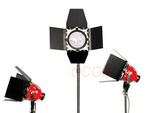 800w Halogen Video Studio Continuous Red Head Light/Video Lighting 220V-240V