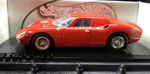 Ferrari 250 LM Red 1:18 Diecast Model Car Hot Wheels Boxed Stunning