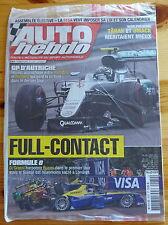 AUTO HEBDO n°2070 du 06/07/2016 NEUF : F1 Autriche - WRC Pologne - Formule E