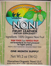 Noni Fruit Leather 2 oz - Hawaiian Organic Noni