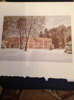 K2-1 1880s Book Plate Picture 6x4 Inches Cranbury Park
