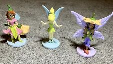 "Disney Tinker Bell & Friends 3"" Birthday Cake Topper Figurines - 3 Total"