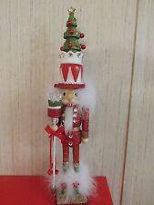 Kurt Adler Christmas Supply Tree Hat Nutcracker 15-Inch Red Green Home Garden