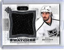 DREW DOUGHTY 2013-14 ULTIMATE PREMIUM SWATCHES LARGE GAME USED JERSEY#/35