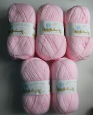 Job Lot James C Brett Baby 4 Ply Knitting Yarn, 500g, Pink **FREE POSTAGE**