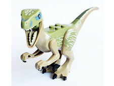 LEGO Jurassic World - Animal Dino Raptor, Black Claws & Olive Green Back (Delta)