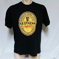 VTG 80s Guinness Beer T Shirt Screen Stars Tee Bar Tavern Liquor Germany Tour XL
