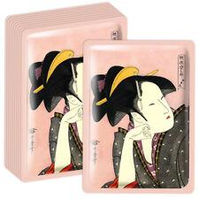 Mitomo Japan Camellia Oil+Matcha Facial Essence Mask 10PCS/BOX JP005-A-1