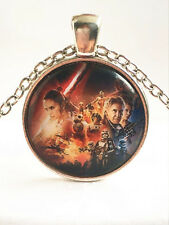 New Star Wars character Cabochon Tibetan silver Glass Chain Pendant Necklace~#1