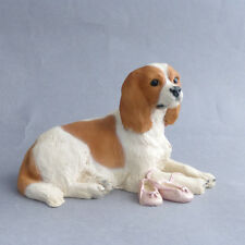 Cavalier King Charles Spaniel Vintage North Light Dog  Ornament Made In England